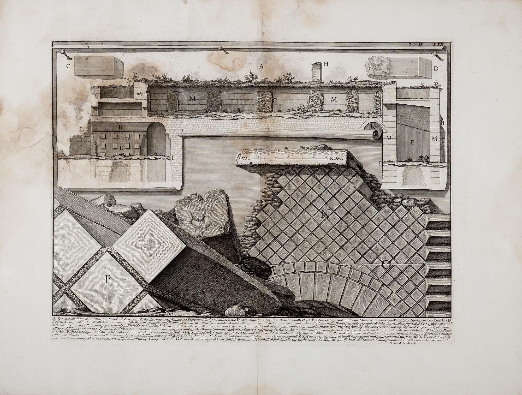 12. Spaccato del Mausoleo di Ottaviano Augusto