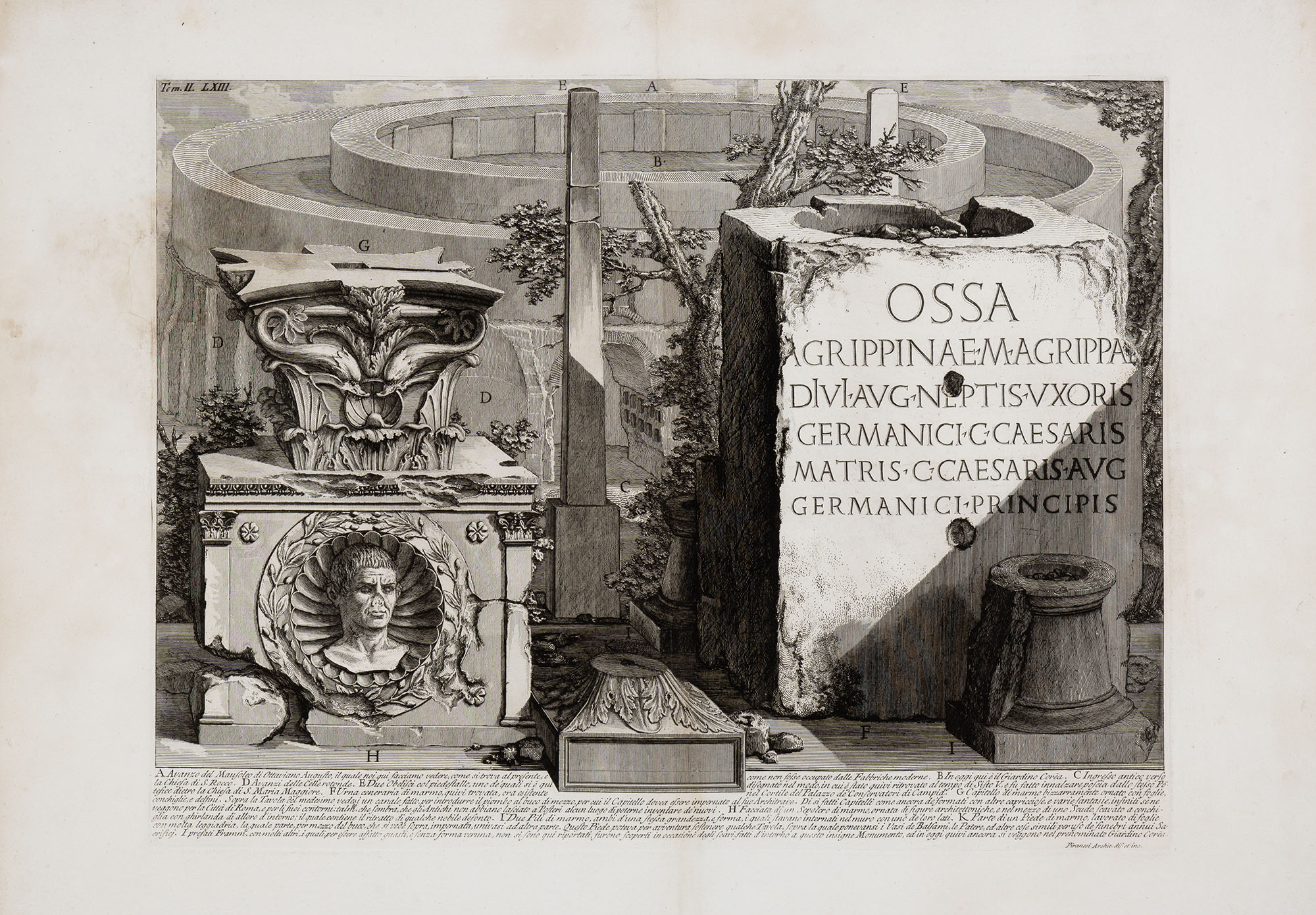 13. Avanzo del Mausoleo di Ottaviano Augusto