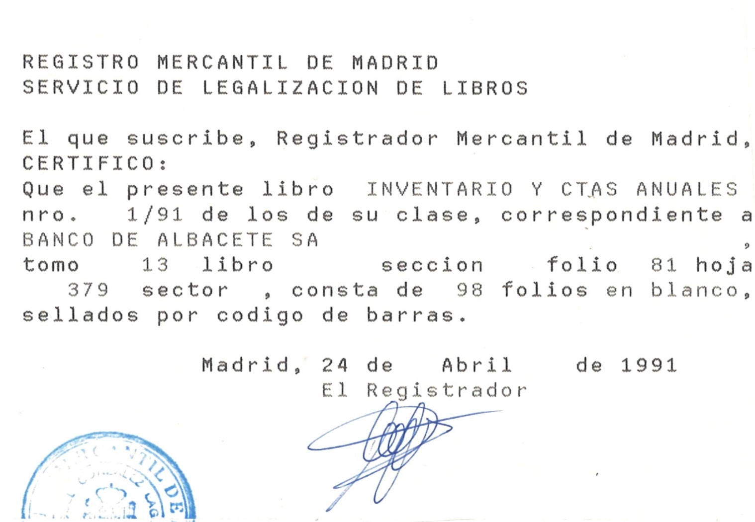 Banco de Albacete